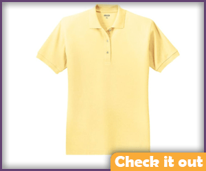 Powder Yellow Polo.