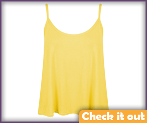 Yellow Undershirt Tank Top.