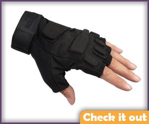 Tactical Fingerless Gloves.