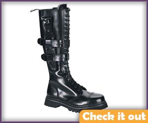 Black Punk Boots.