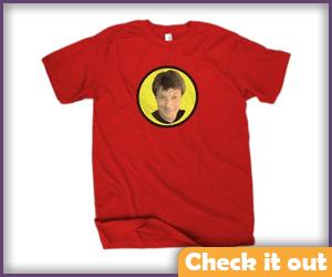 Captain Hammer Groupie Shirt.