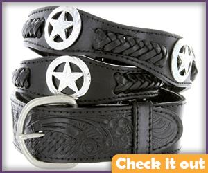 Black Cowboy Belt.
