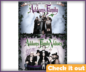 The Addams Family  DVD Set.
