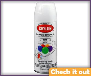 White Spray Paint.