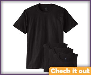 Black Undershirt.