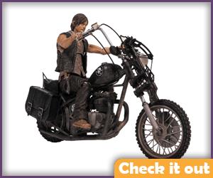 Daryl Dixon Chopper Figure.