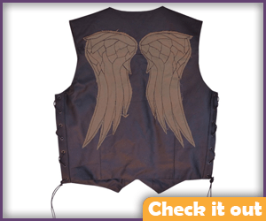 Daryl Dixon Costume Vest Worn.
