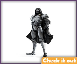 Doctor Doom Classic Armor Figure.