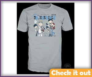 Dr. Horrible Toon Shirt.