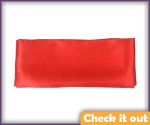 Red Belt Sash.