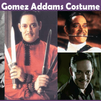 Gomez Addams Costume - A DIY Guide