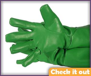 Green Superhero Gloves.