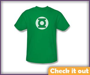 Green Lantern Logo Tee.