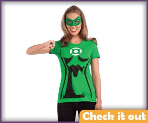 Green Lantern Women's Tee.