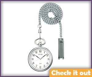 Silver Pocket Watch.