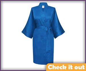 Blue Robe.