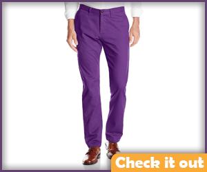 Purple Dress Pants.