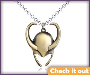 Loki Costume Necklace.