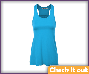 Turquoise Tank Top.