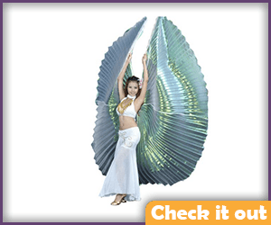 Costume Large Wings.