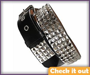 Silver Studded Belt.