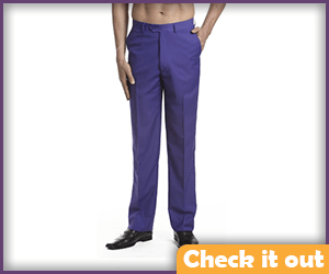 Purple Dress Pants.