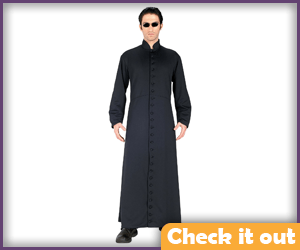 Neo The Matrix 2 Long Coat.