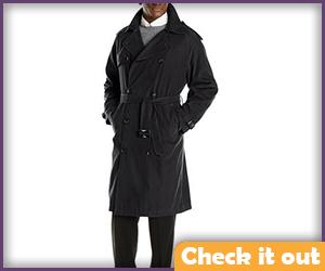 Black Trench Coat.