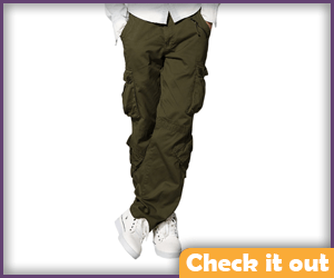 Army Green Cargo Pants.