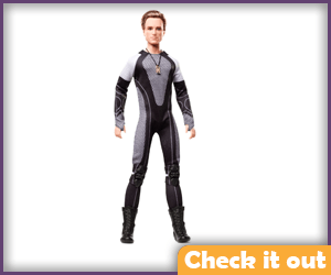 Peeta Catching Fire Doll.