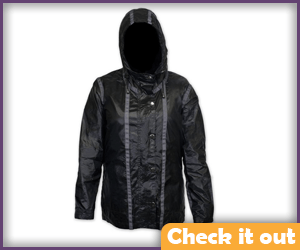 The Hunger Games Rain Jacket.