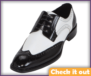 Black and White Dress Shoes.