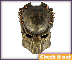 Predator Bronze Mask.