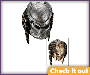 Predator Costume Two-Piece Mask.