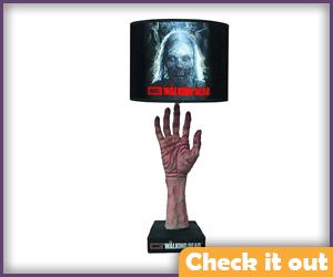 The Walking Dead Lamp.