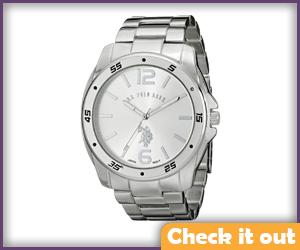 Silver Watch.