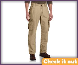 Khaki Cargo Pants.