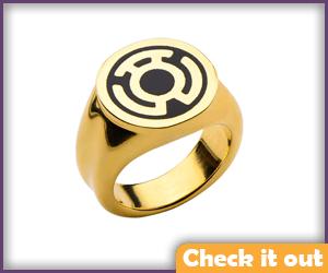 Sinestro Gold Ring.