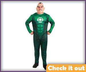 Sinestro Plus-Size Costume.