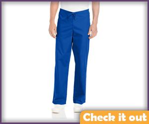 Blue Scrub Pants.