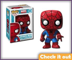 Spider-Man Funko.