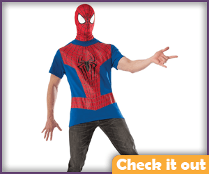 Spider-man Tee and Mask.