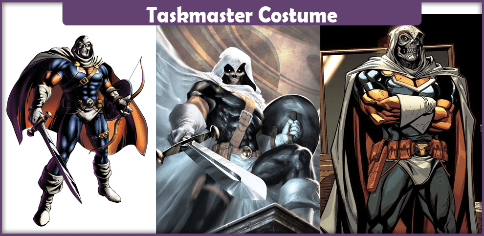 Taskmaster Costume - A DIY Guide