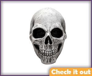 White Skull Mask.