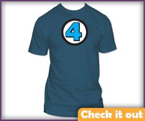 Fantastic Four Logo Tee.