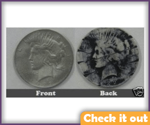 Two Face Costume Coin.