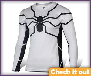 Venom Costume White Tee.