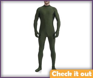 Dark Green Bodysuit.