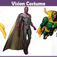Vision Costume - A DIY Guide