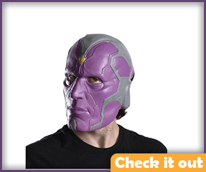 Vision Costume Mask.